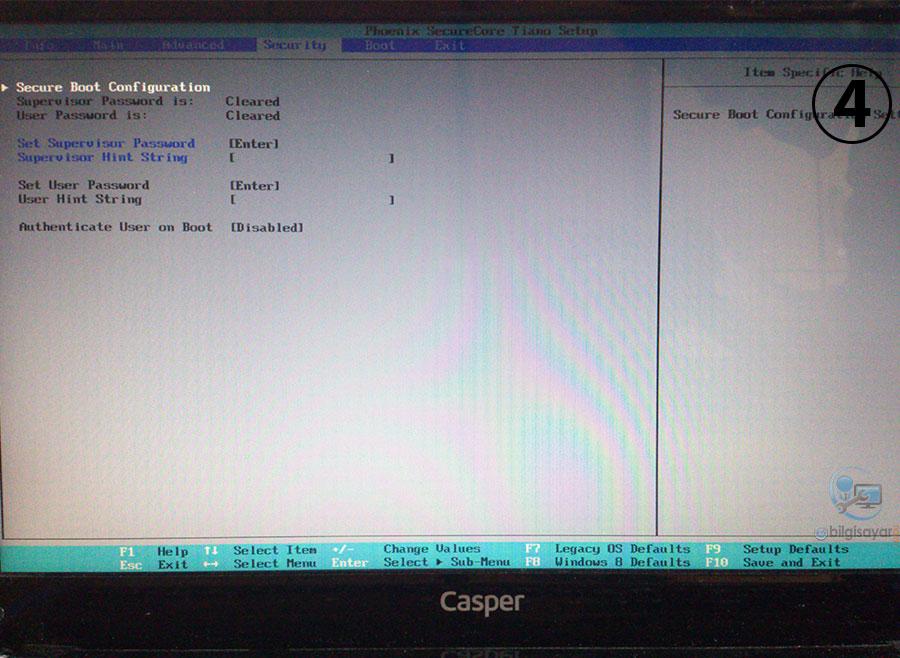 Casper Nirvana NB 15 6 Windows Kurma (Windows 7 - Windows 8 1)