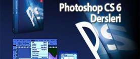 Photoshop CS6 Menüleri (Photoshop CS6 Dersleri – 5)