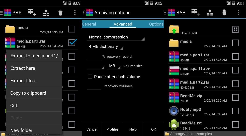 WinRAR Android Yayınlandı