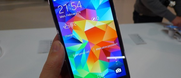Samsung Galaxy S5 Türkiye' de Satışa Sunuldu