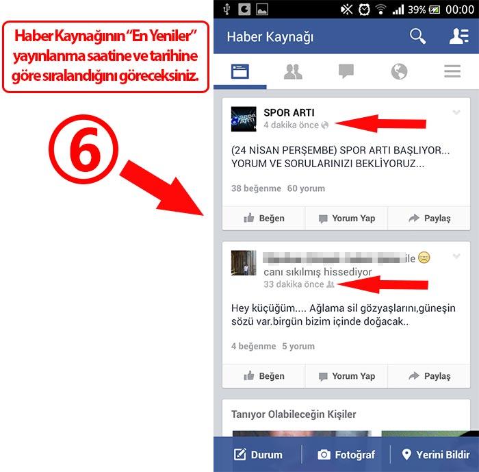 Facebook Android Haber Kaynağı En Yeniler Sıralama