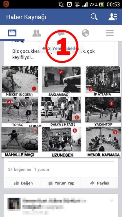 Facebook Otomatik Video Oynatma 'yı Kapatma (Android) - 1