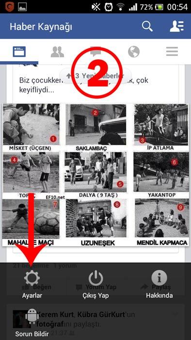 Facebook Otomatik Video Oynatma 'yı Kapatma (Android) - 2