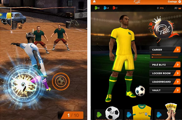 king of football - Ayın En iyi Android Oyunları (Nisan 2014)