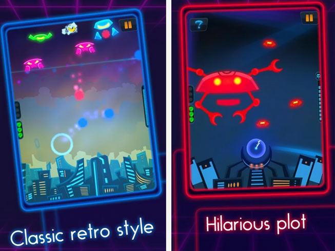 neon commander - Ayın En iyi Android Oyunları (Nisan 2014)