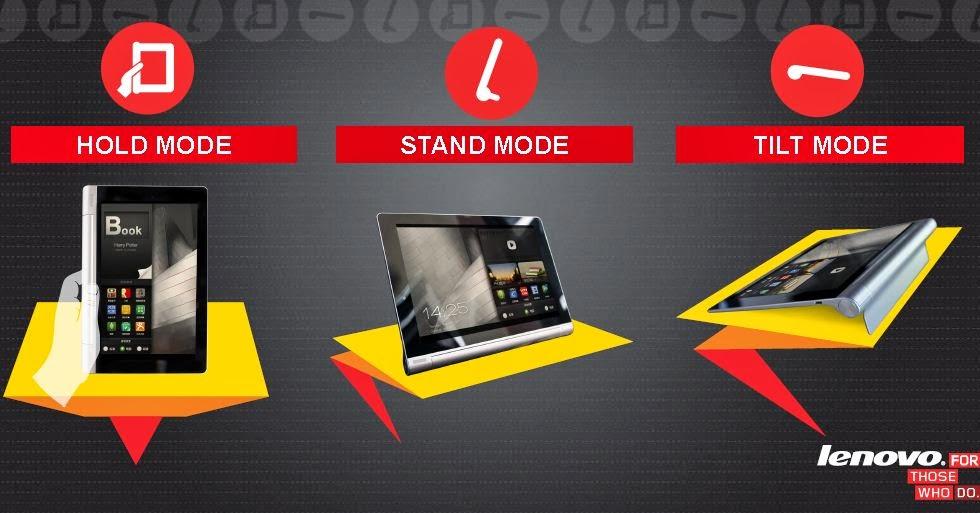 Lenovo Yoga Tablet inceleme (Yoga Tablet 8 ve Yoga Tablet 10) - Kullanılabilirlik