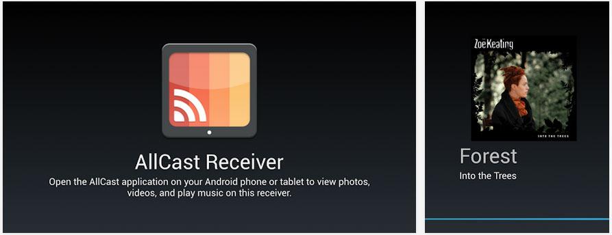 Ayın En iyi Android Uygulamaları (Mayıs 2014) - AllCast Receiver