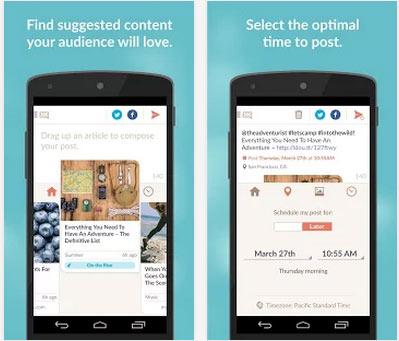 Ayın En iyi Android Uygulamaları (Mayıs 2014) - Klout Uygulaması