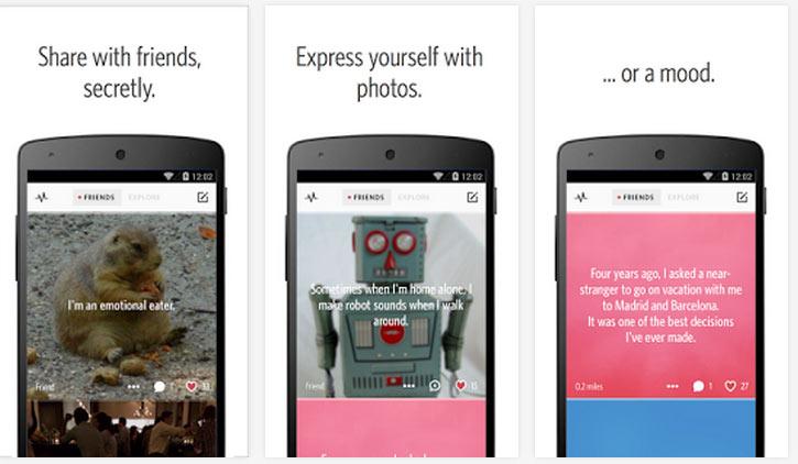 Ayın En iyi Android Uygulamaları (Mayıs 2014) - Secret Uygulaması