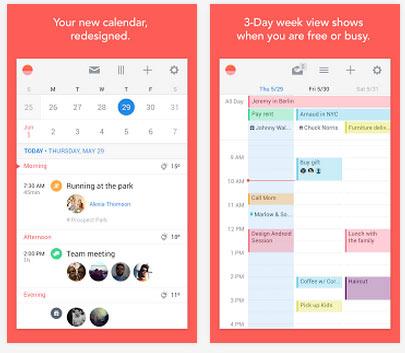 Ayın En iyi Android Uygulamaları (Mayıs 2014) - Sunrise Calendar