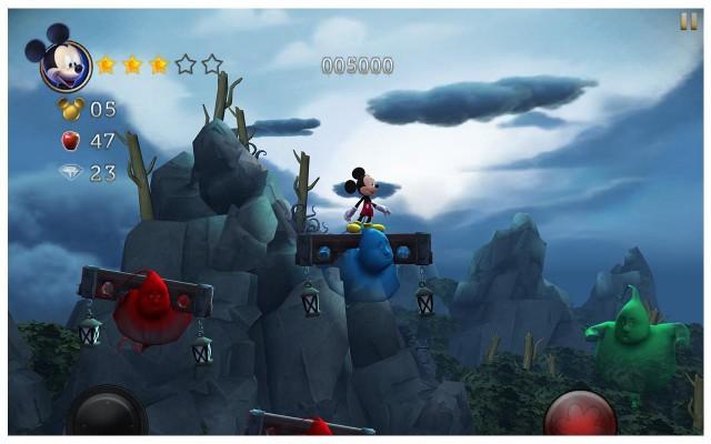 Ayın En iyi Android Oyunları (Haziran 2014)- Castle of Illusion