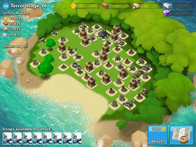 Ayın En iyi Android Oyunları (Haziran 2014) - Boom Beach
