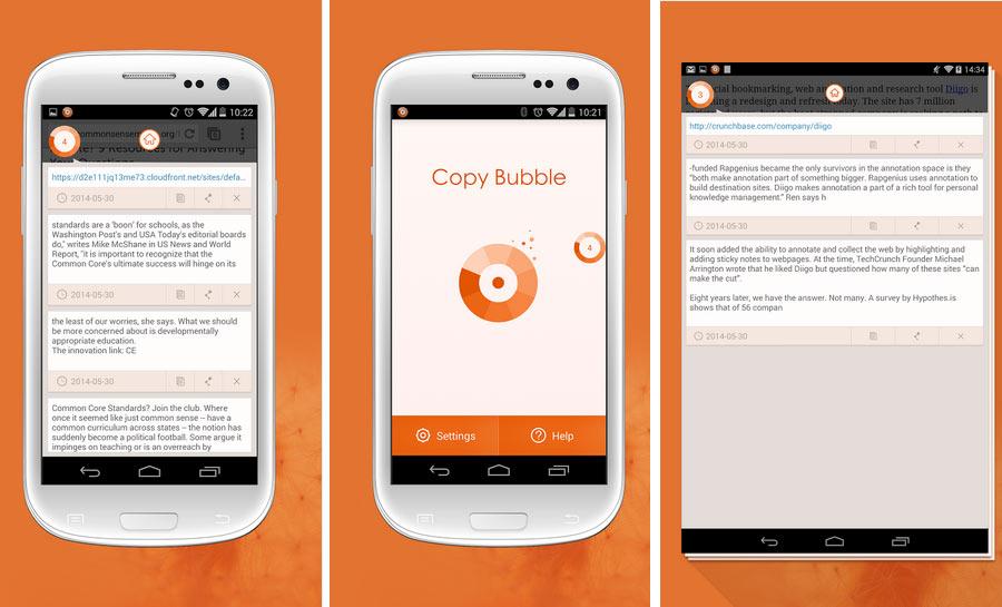 Ayın En iyi Android Uygulamaları (Haziran 2014) - Copy Bubbles