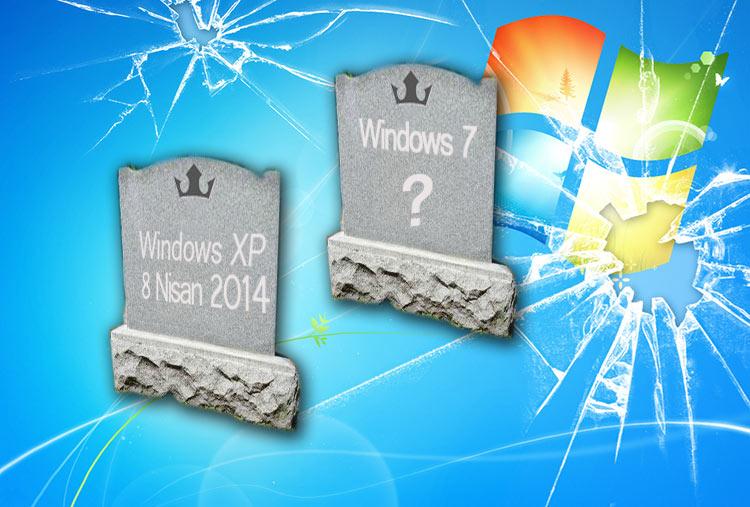 Windows 7 Desteği Ne Zaman Bitiyor? : İşte O Tarih...