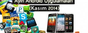 Ayın En iyi Android Uygulamaları (Kasım 2014)
