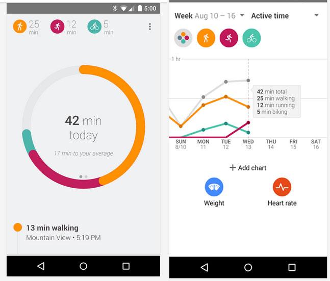 Ayın En iyi Android Uygulamaları (Kasım 2014) - google-fit