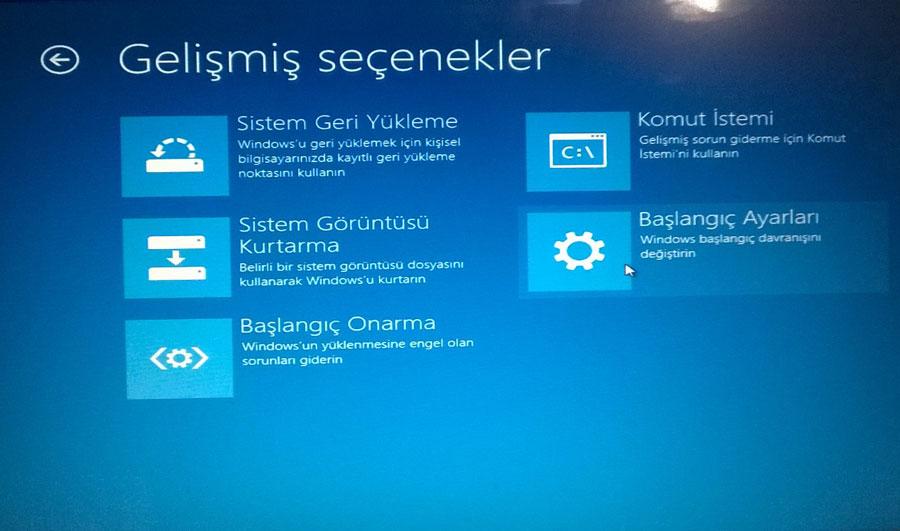 Windows 8.1 Güvenli Modda Açma Resimli Anlatım - 7
